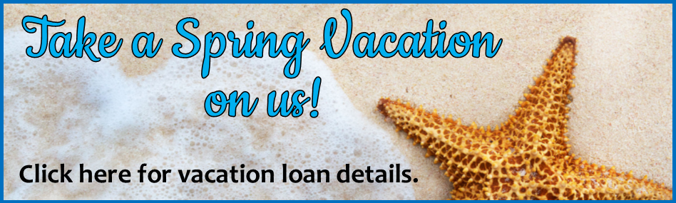 Take a Spring Vacation on us!